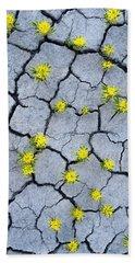 Desert Flowers Bath Towel
