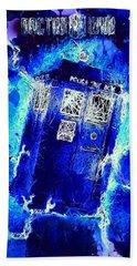Doctor Who Tardis Hand Towel