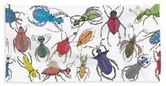 Doodle Bugs Hand Towel
