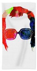 Elton Watercolor Hand Towel
