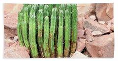 Euphorbia Resinifera - Resin Spurge Bath Towel