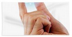 Fingertip Artificial Intelligence Hand Towel