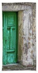 Green Door 2 Bath Towel