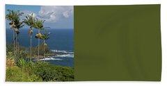 Hawaii Big Island Bath Towel