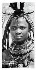 Himba Girl Bath Towel