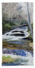 Horsepasture River Bath Towel