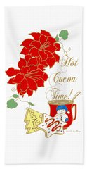 Hot Cocoa Time Hand Towel