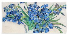 Irises - Digital Remastered Edition Bath Towel