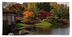Japanese Gardens Bath Towel