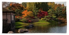 Japanese Gardens Bath Towel