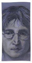 John Lennon Re-imagined Bath Towel