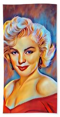 Lady  Monroe  Hand Towel