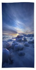 Bath Towel featuring the photograph Letting Go by Phil Koch