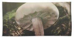Look At The Mushroom Hand Towel