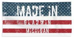 Made In Gladwin, Michigan Bath Towel
