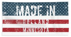 Made In Holland, Minnesota Hand Towel