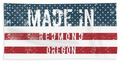 Made In Redmond, Oregon Bath Towel