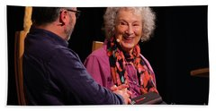Margaret Atwood At The Hay Festival 2018 Hand Towel