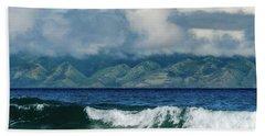 Maui Breakers Hand Towel