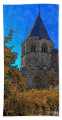 Medieval Bell Tower 6 Hand Towel