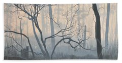 Misty Hideaway - Wood Duck Hand Towel