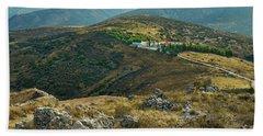 Monastery Agion Anargiron Above Argos Hand Towel