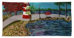 Mount Dora Lighthouse Bath Towel