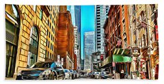 New York One World Trade Center Hand Towel