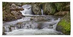 Bath Towel featuring the photograph On The Trail To Cascade Falls by James Woody