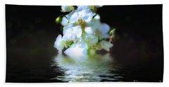 Orchid Reflection Bath Towel