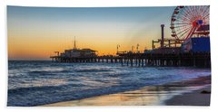 Pacific Park On The Pier Hand Towel