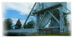 Pegasus Bridge Bath Towel