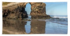 Playa De Las Catedrales - Spain Hand Towel
