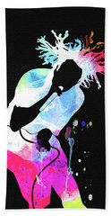 Rage Against The Machine Watercolor Hand Towel