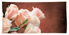 Roses Bouquet Hand Towel