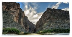 Santa Elena Canyon Bath Towel
