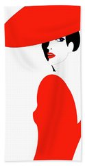 Scarlet Woman 1 Bath Towel