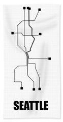 Designs Similar to Seattle White Subway Map