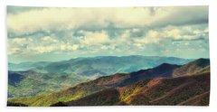 Smoky Mountain Memory Bath Towel