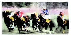 Steeple Chase Colors Hand Towel