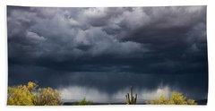 Stormy Arizona Skies  Bath Towel
