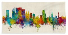 The Hague Netherlands Skyline Hand Towel
