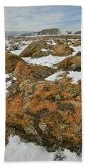The Many Colors Of The Book Cliffs Hand Towel