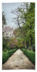 The Paths Of The Retiro Park Hand Towel