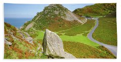 The Valley Of The Rocks Hand Towel