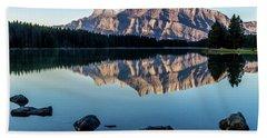 Two Jack Lake, Banff National Park, Alberta, Canada Hand Towel