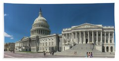 United States Capitol  Hand Towel