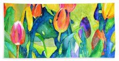Welcome Spring #1 Hand Towel