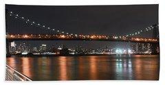 Williamsburg Bridge Hand Towel