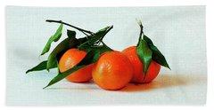 11--01-13 Studio. 3 Clementines Bath Towel